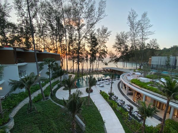 The brand-new InterContinental hotel on Kamala Beach (Phuket)